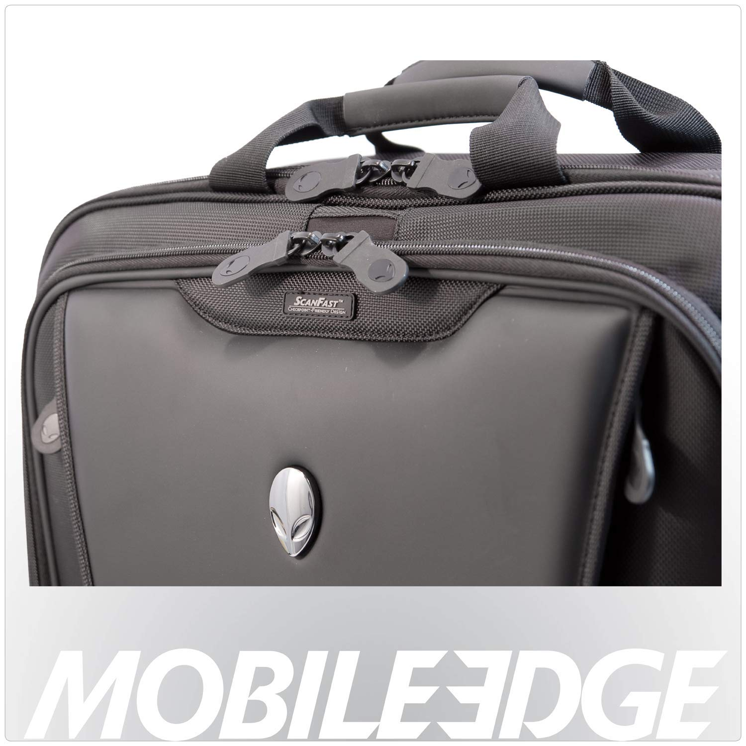 0c46a4de293c Mobile Edge Alienware Orion ScanFast TSA Checkpoint Friendly 17.3 Inch  Laptop Messenger Bag, Large Capacity, Black ME-AWMC2.0