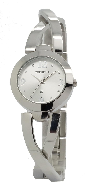 ORPHELIA Damen-Armbanduhr Analog Quarz Edelstahl 153-2718-88