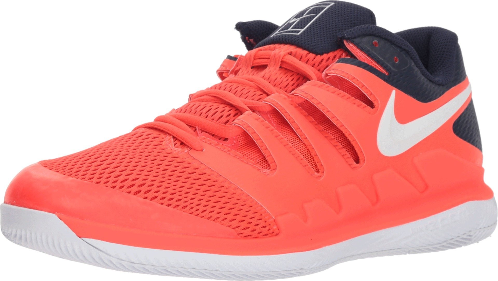 f7a375bf25aaa Nike Men's Zoom Vapor X Tennis Shoes (12 D US, Bright  Crimson/White/Blackened Blue)