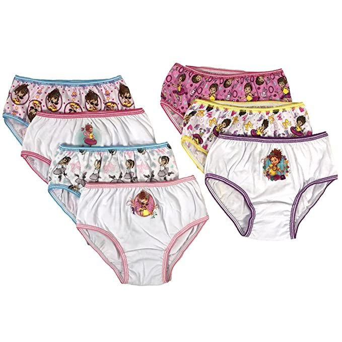 6f388aca Amazon.com: Disney Girls' 7-Pack Fancy Nancy Underwear Panty: Clothing