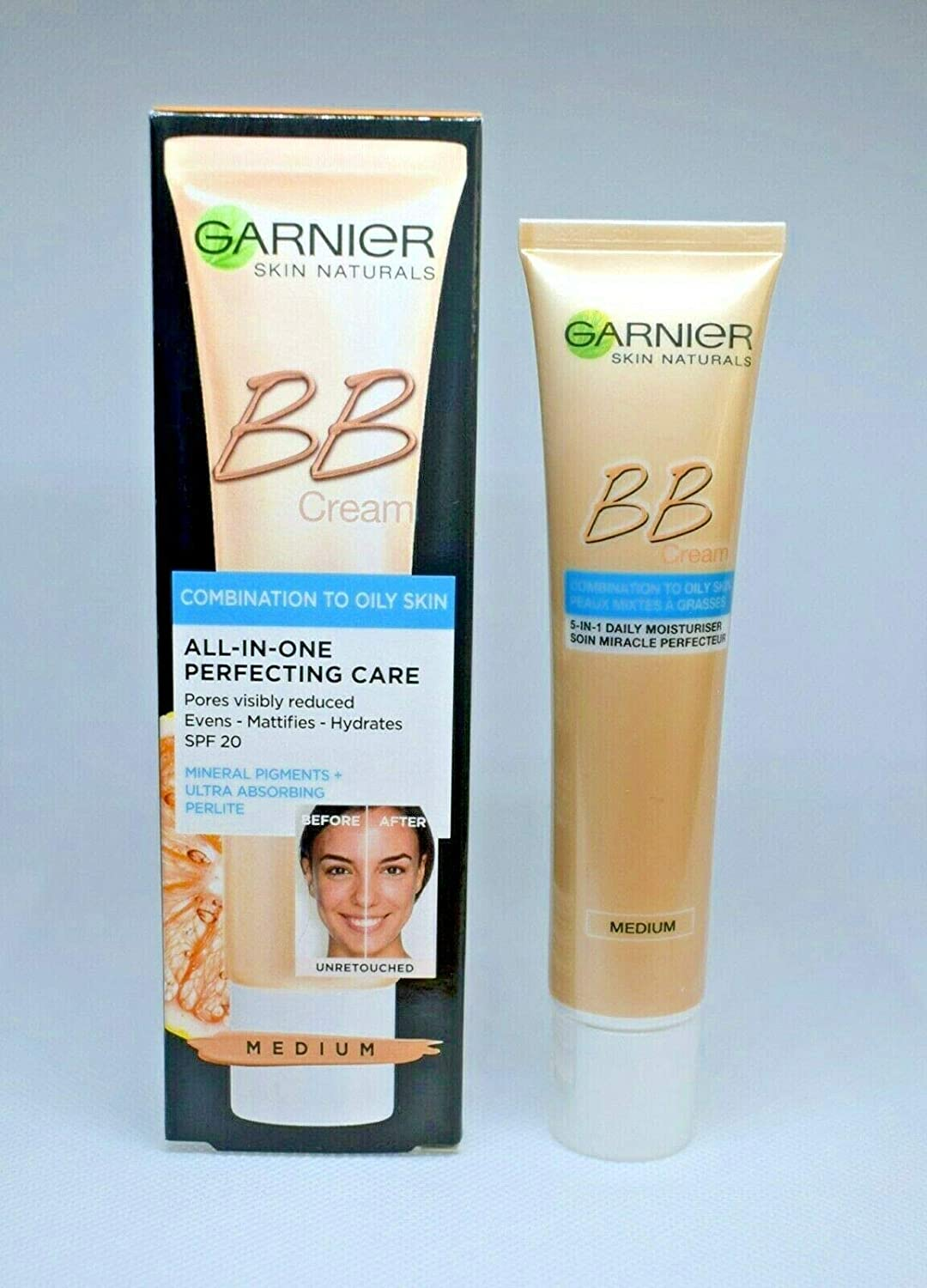 Miracle Skin Perfector by Garnier Daily All-In-One B.B. (Blemish Balm) Cream ...