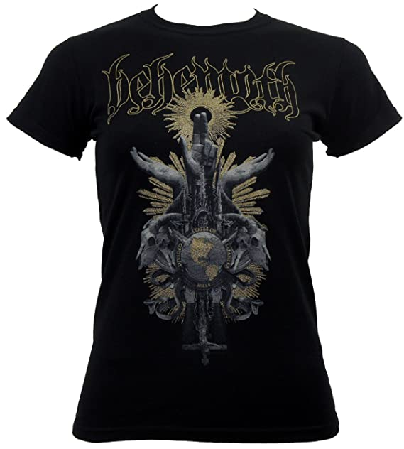 Behemoth Womens Divided States T-Shirt Black L
