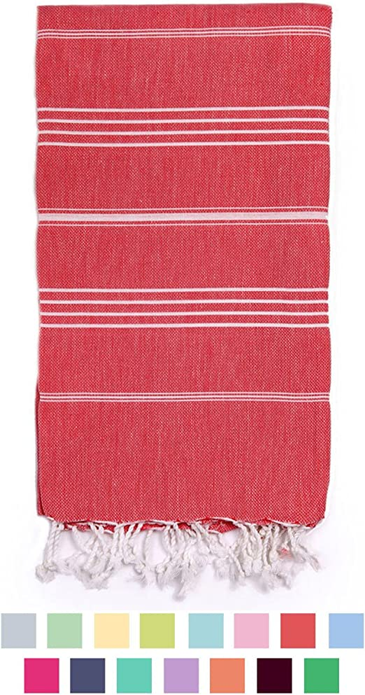 USA SELLER Bath Beach Authentic Towel Handmade Turkish Peshtemal 100/% Cotton