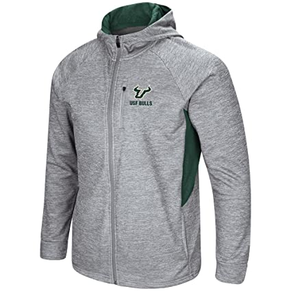 Colosseum Mens USF South Florida Bulls Full Zip Jacket
