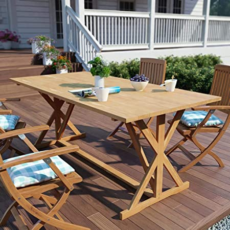 honglianghongshang Mobilier de Jardin Tables de Jardin Table ...