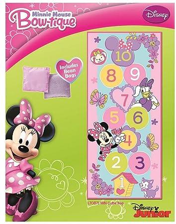 Minnie Mouse Hopscotch Game Rug