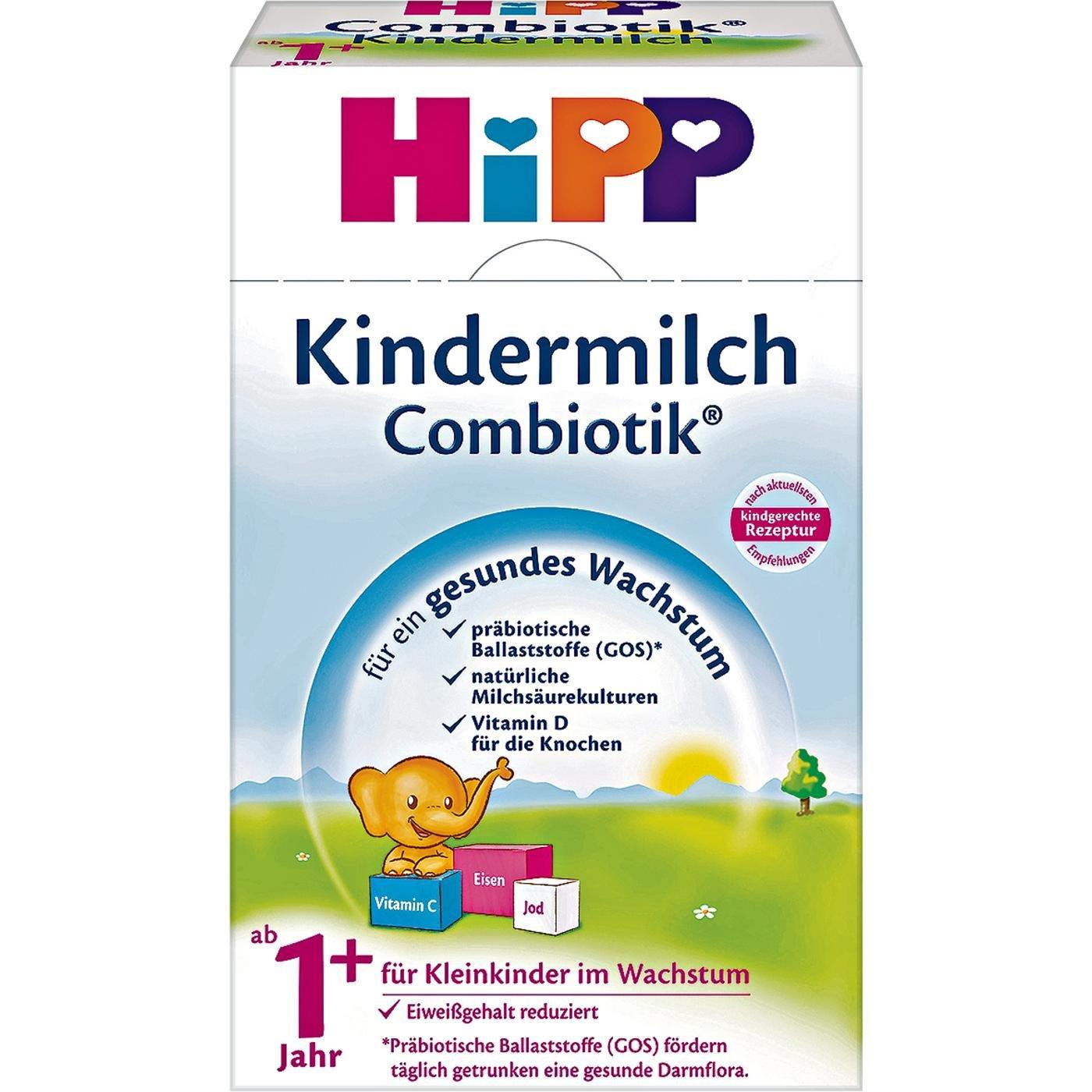 Hipp Kindermilch Combiotik - 1+, 10er Pack (10 x 600g)