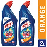 Harpic Powerplus Orange - 1000 ml (Pack of 2)
