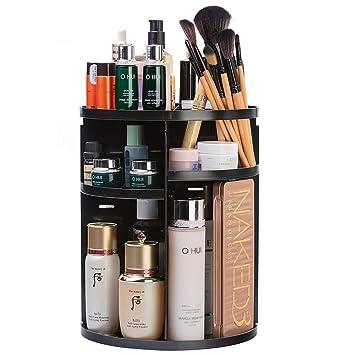 Amazon.com: Organizador de maquillaje giratorio de 360 ...