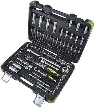 JBM 53011 Piezas en estuche, Negro, Set de 94: Amazon.es: Bricolaje y herramientas