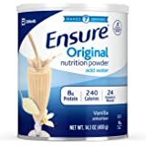 Abbott 雅培 Ensure Original营养代餐粉,含8克蛋白质,香草味,每罐400克,6罐装