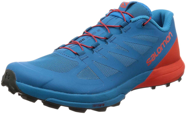 Bleu Salomon Sense Pro 3 Chaussures De Course pour Hommes EU 40 2 3 - UK 7