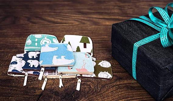Amazon.com: Monedero pequeño Selizo, 10 unidades, pequeño ...