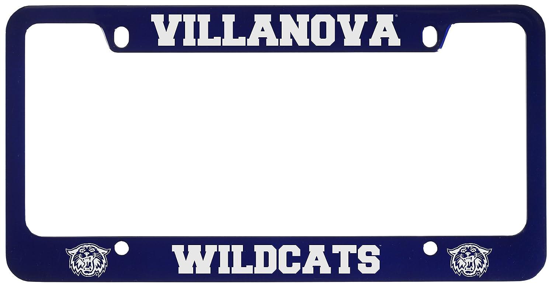 Amazon.com : Villanova University -Metal License Plate Frame-Blue ...