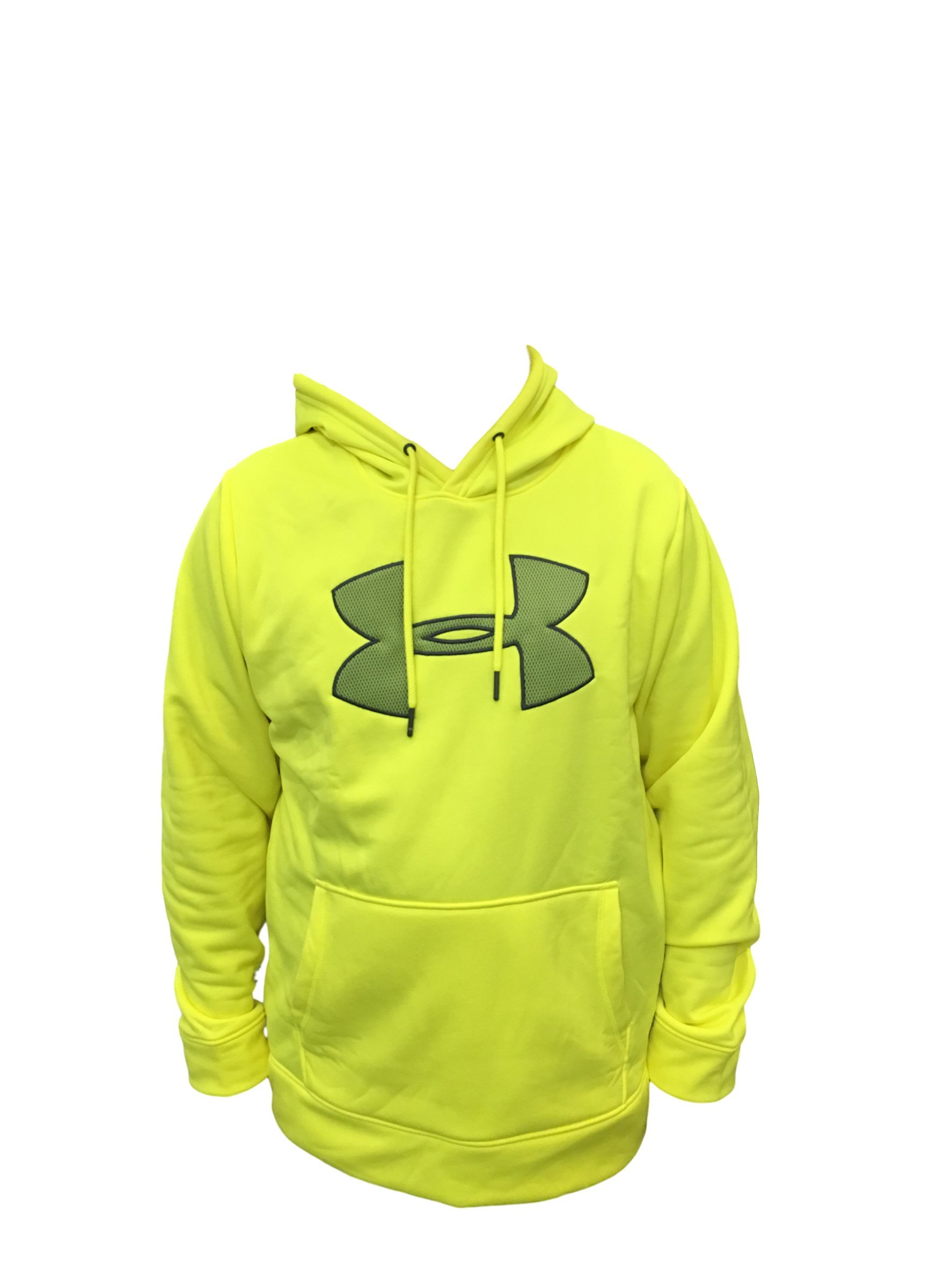24a66d24f4f04 Galleon - Under Armour Mens Storm Caliber Hoodie (Large, Yellow)