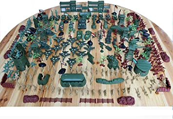 Military Toys Soldier Set Soldiers Battle Group Figuras Juegos para El Ejército Military War Games Soldados Military Playset with Map (310 Piezas): Amazon.es: Deportes y aire libre
