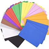 Horizon Group USA 30 Rainbow Colorful Foam Sheets 5X 8.5, Multipack Assorted Vibrant Colors, Great for DIY Craft…