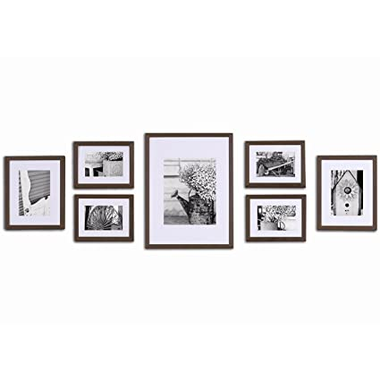 Amazoncom Pinnacle Frames Accents Gallery Perfect 7 Piece Wall