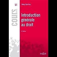 Introduction générale au droit (Cours)