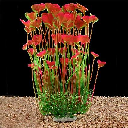 Fish & Aquariums 2nd Pet Supplies Artificial Plastic Plants Fish Tank Ornament Aquarium 5