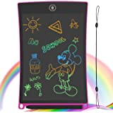 GUYUCOM 8.5-Inch LCD Writing Tablet Colorful Screen Doodle Board Electronic Digital Drawing Pad with Lock Button for…