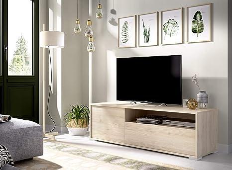 LIQUIDATODO ® - Mueble de tv de diseño nórdico 130 cm ...
