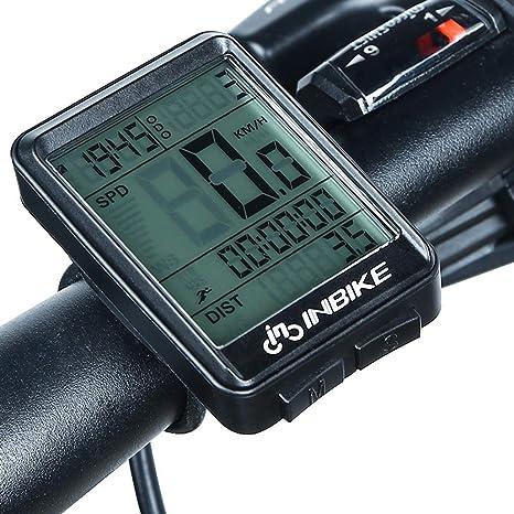 MTSBW Computadora De Ciclismo Impermeable con Velocímetro para ...