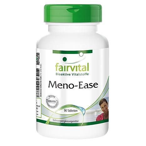 Meno-Ease - durante 45 días - VEGAN - ALTA DOSIS - 90 comprimidos -