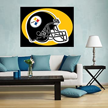 Steelers wall stickers Steelers wall decals Steelers home decor Steelers car sticker & Amazon.com: Steelers wall stickers Steelers wall decals Steelers ...