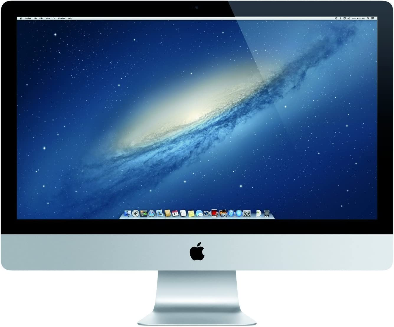 Apple iMac ME088LL/A Late 2013, Intel Core i5-4570 3.2GHz 16GB DDR3 RAM 1TB HDD storage - 27in, Silver (Renewed)