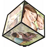 Revolving Photo Cube, Displays 6 Photos