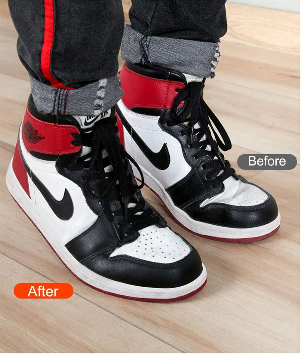 Anti-Wrinkle Shoes Creases Protector 6 Pairs,Prevent Sports Shoes Crease,Against Shoes Indentation,Mens 7-12// Womens 5-8