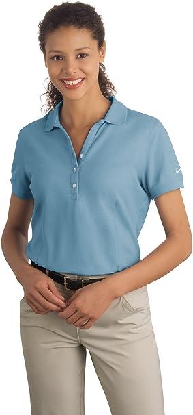 Nike Golf - Polo Piqu¨¦ para mujer, 297995, Skyline Blue, M ...