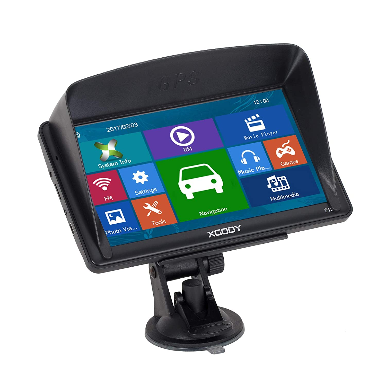 XGODY 712 SAT NAV GPS Navigation System 7 Inch 8GB 256MB Car