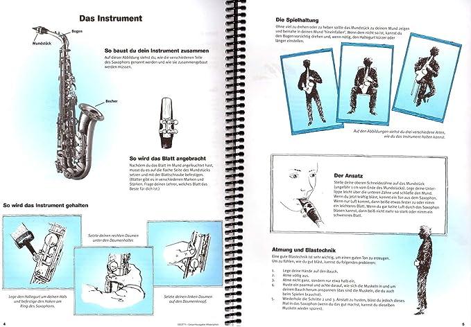 Para escuchar, leer y jugar, escuela para saxofón alto, salida ...