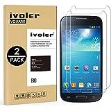 iVoler [2 Pack] Vetro Temperato Compatibile con Samsung Galaxy S4 Mini [Garanzia a Vita], Pellicola Protettiva Protezione per Schermo per Samsung Galaxy S4 Mini