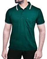 20 Colours - Larky Polo T Shirt for men with pocket - Pack of 1 - mesh type