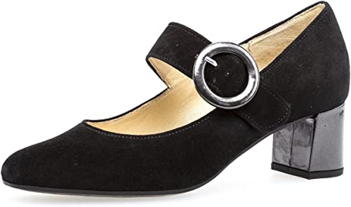 Damen Pumps eleganter Damenschuh mit modischer Schnalle klassisches Modell