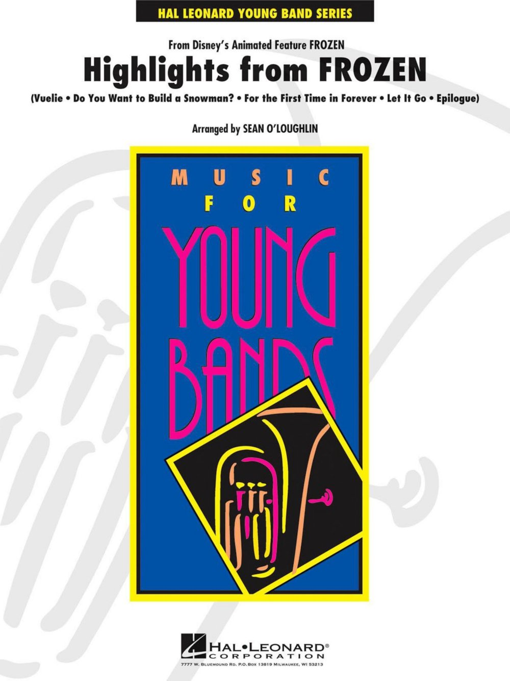 Hal Leonard Highlights from Frozen - Young Concert Band Level 3 ebook