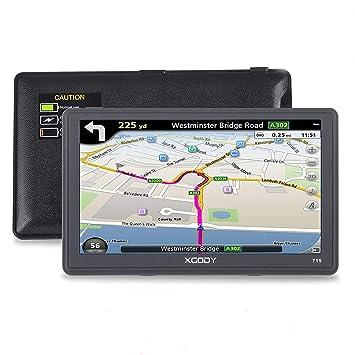 Xgody 715 - Sistema de Navegación GPS para Camión de 7 Pulgadas con Pantalla Táctil capacitiva de ...