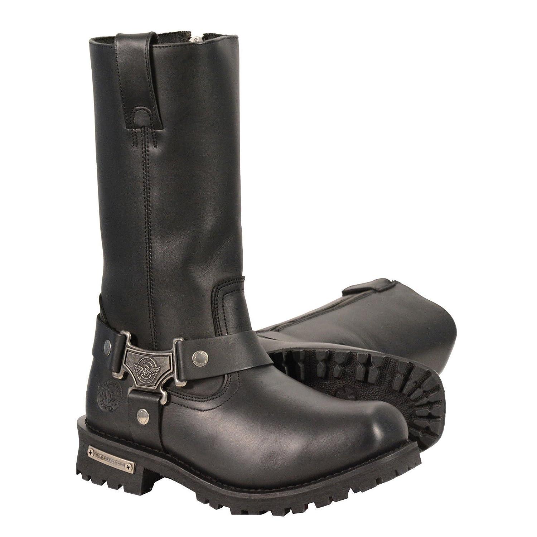 Milwaukee Leather メンズ ブラック 8 EE  B07B68R6V2