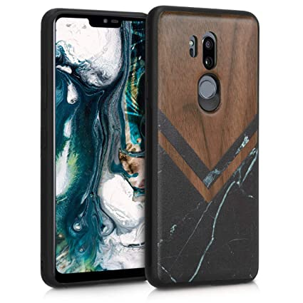 Amazon.com: kwmobile - Carcasa rígida para LG G7 ThinQ, Fit ...