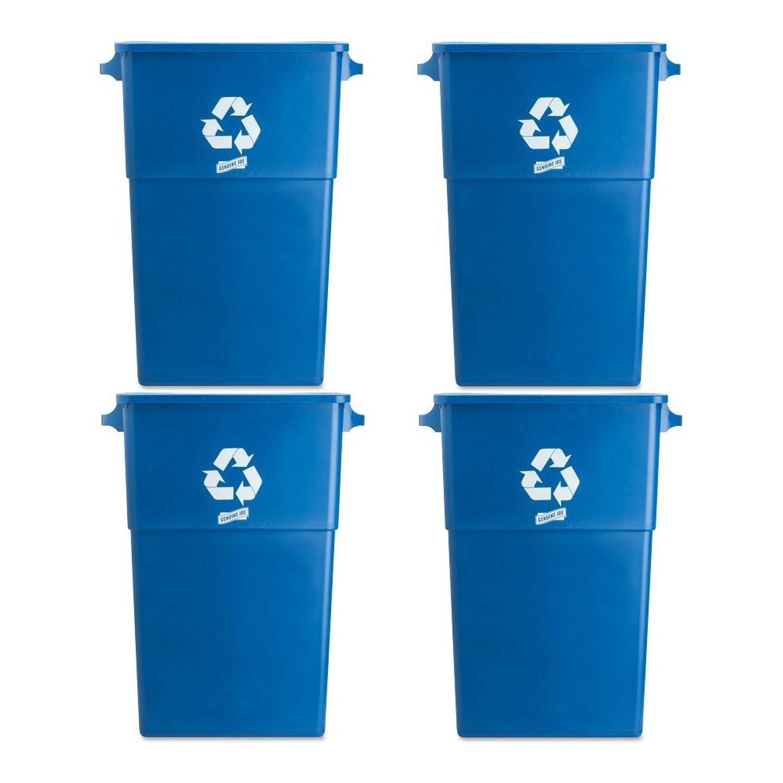 Amazon.com: Genuine Joe GJO60465 Plastic Space Saving Waste ...