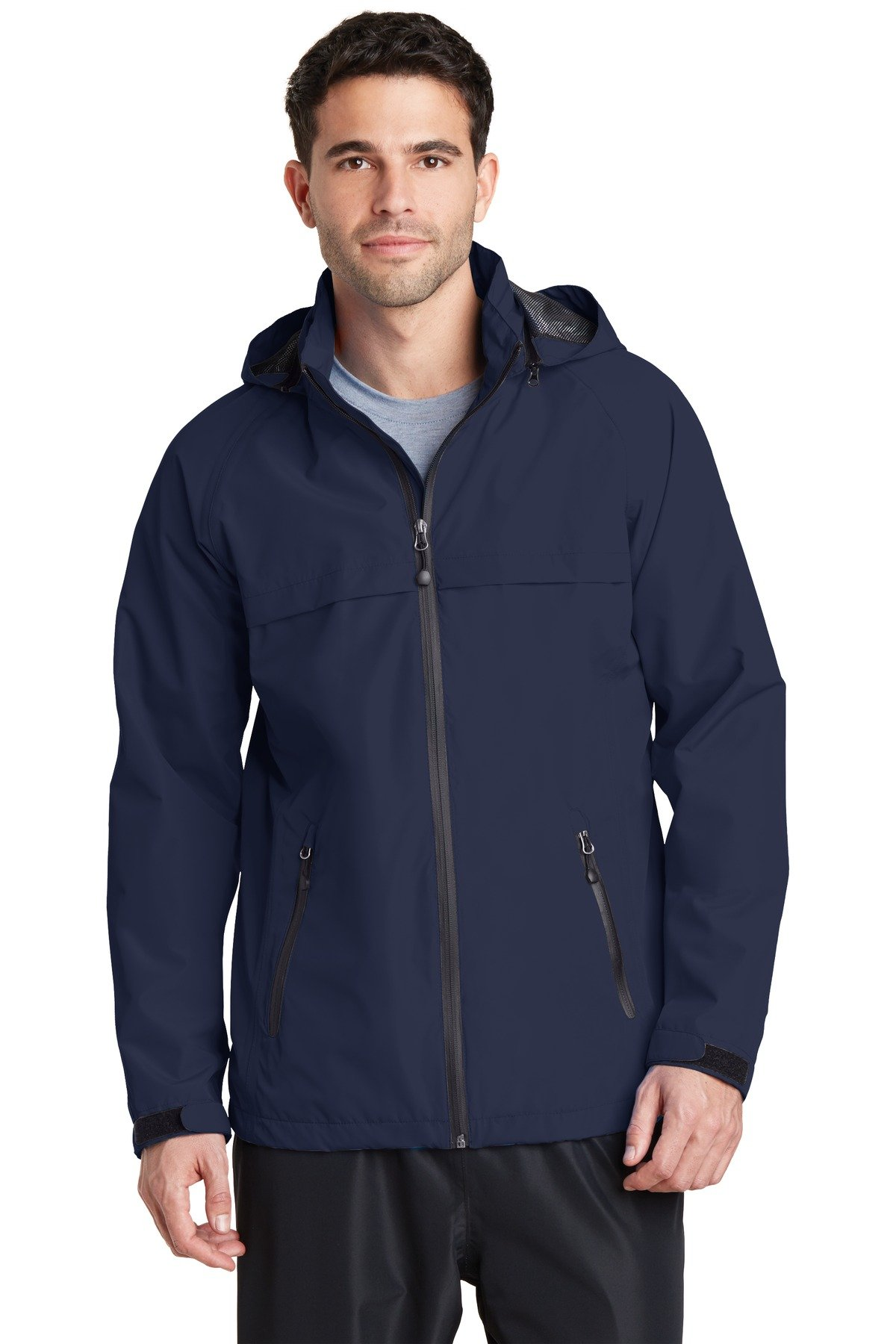 Port Authority Torrent Waterproof Jacket. J333 True Navy M