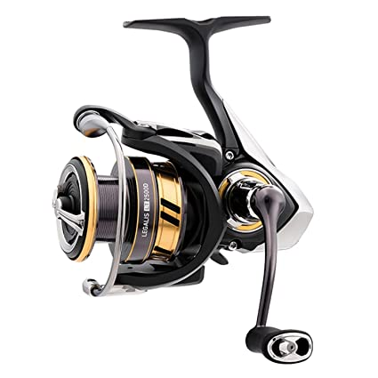 Legalis LT 2500D Spinning Reel, Carbon Light Body, 5.3:1 ratio, 5BB+1RB, 7.2 oz, 210yds 10lb mono, Air Bail