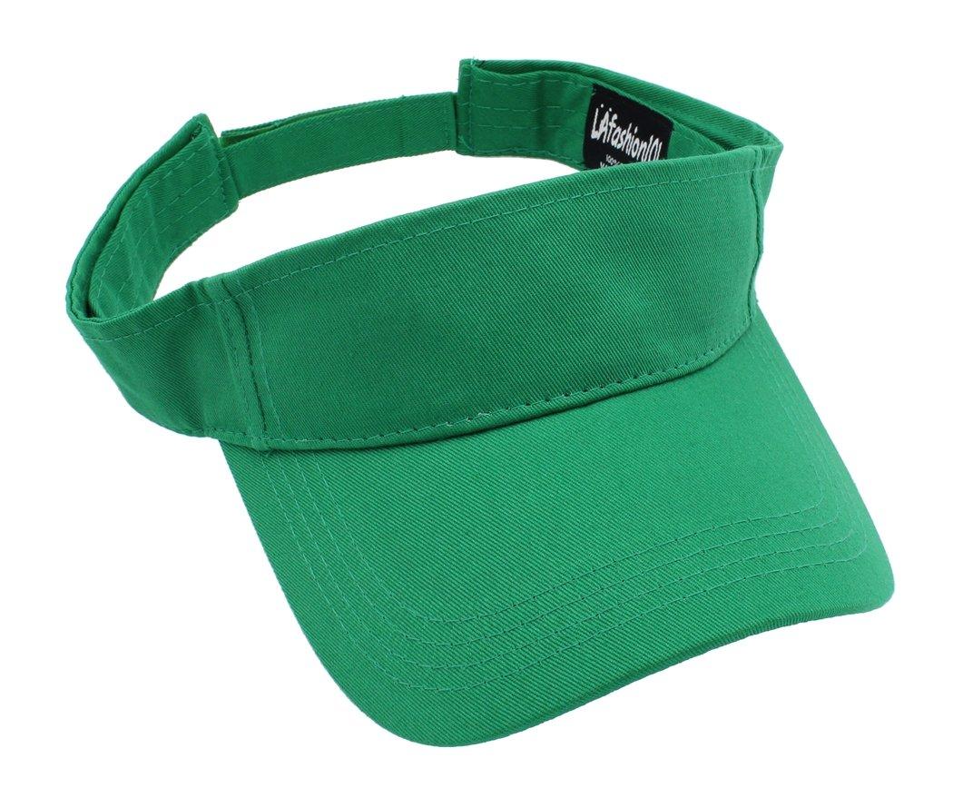 LAfashion101 Sun Sports Visor Hat Cap - Classic Cotton for Men Women BLK
