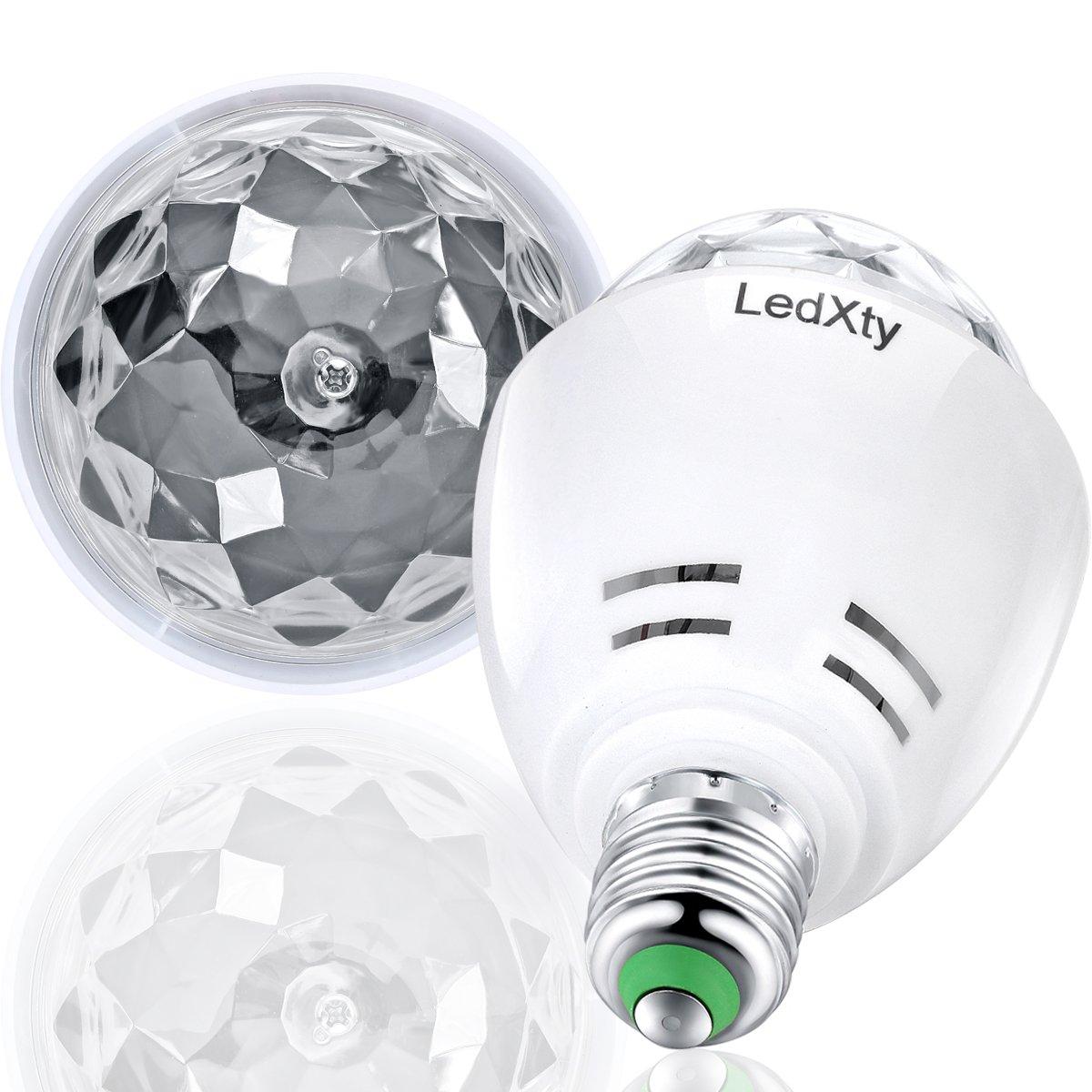 LED Blacklight Lianji E26/E27 Ultraviolet Party Bulb Stage Light -Rotating DJ KTV Party Pub Club Ball 3W 390nm Wavelenght LED UV Stage Light