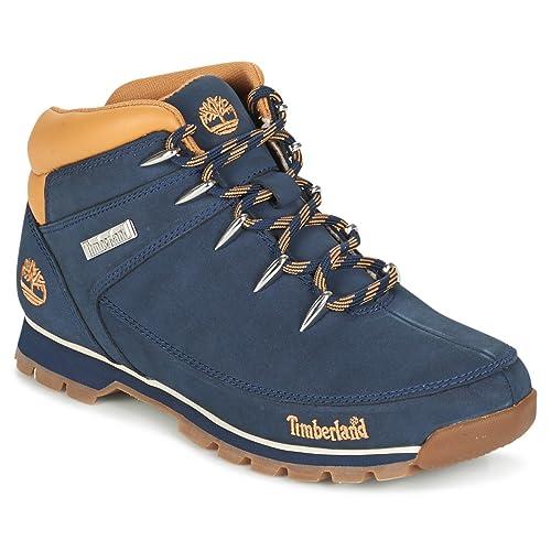 Timberland Zapatillas Altas Hombre, Color Azul, Talla 29,5