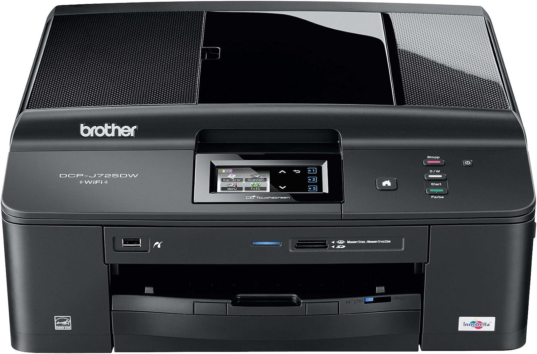 Brother DCPJ725DW - Impresora multifunción de Tinta Color (A4, 12 ...