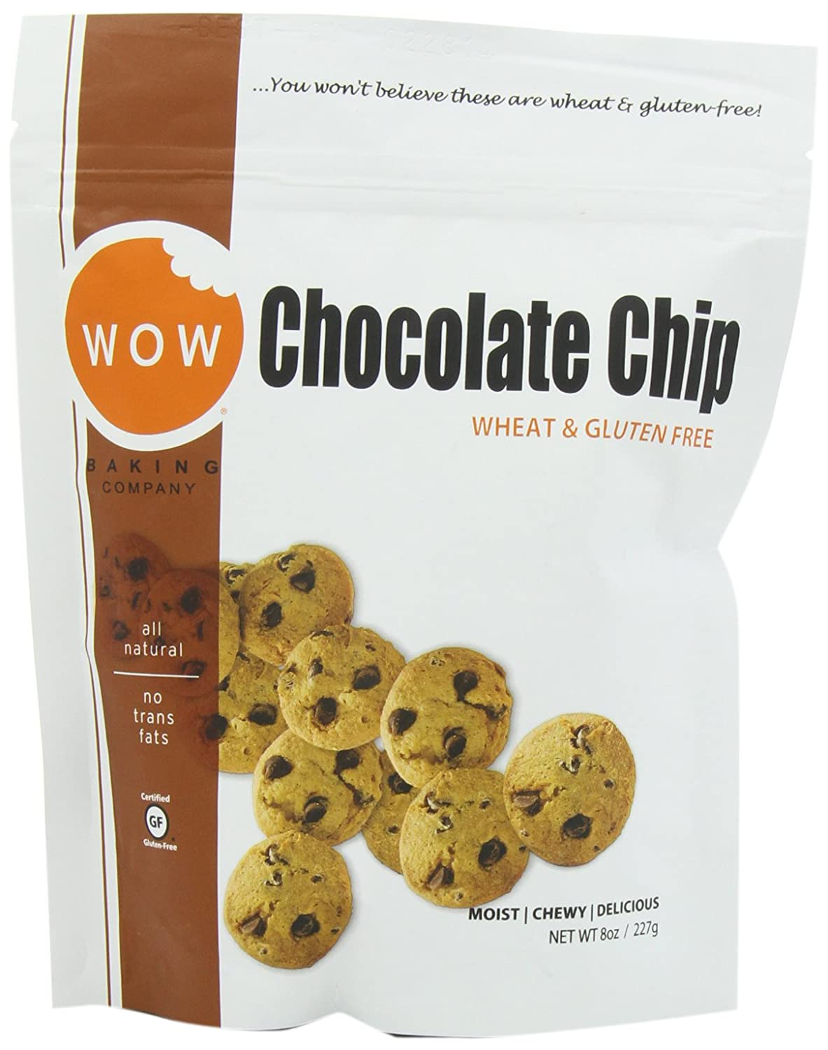 Amazon wow baking company cookies chocolate chip 8 ounce amazon wow baking company cookies chocolate chip 8 ounce pack of 6 negle Image collections